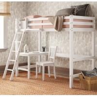Кровать-чердак со столом Ханна Лофт