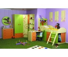 Набір дитячих меблів Фрутіс із 6 предметів