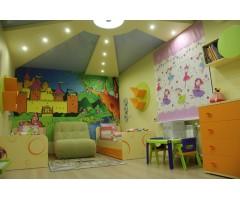 Дитяча модульна спальня Фрутіс з двома окремими ліжками