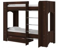 Двоярусне ліжко ДСП Дует-2 з матрацами