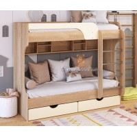 Двухъярусная кровать из дсп Юнга