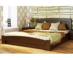 Ліжко з щита буку Селена Аурі