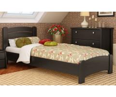 Ліжко з масиву бука Венеція Люкс