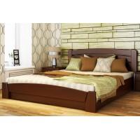 Кровать из массив бука Селена Аури