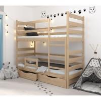 Двоповерхове ліжко Амелі бук
