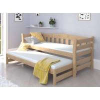 Детская кровать с дополнительным спальным местом Теодора Дуо бук