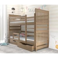 Двох'ярусне ліжко з бука Адель Дуо