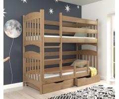 Двоярусне букове ліжко Мелісса