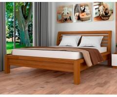 Двоспальне ліжко з дерева Офелія