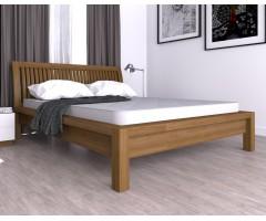 Двоспальне ліжко Юнона з натурального дерева