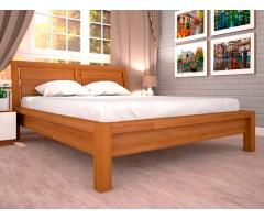 Масивне двоспальне ліжко Саміра