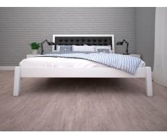 Двоспальне ліжко з м'яким узголів'ям Аврора-2
