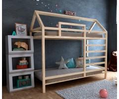 Двоярусний будиночок ліжко Джина