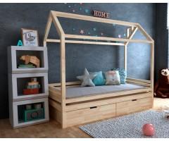 Ліжечко-будиночок Кітті з шухлядами