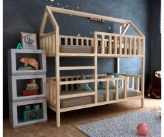 Двоповерхове ліжко-будиночок Моллі