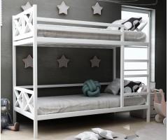 Двоярусне ліжко з дерева Ліана