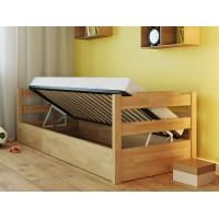 Сучасне ліжко Мілена з підйомним механізмом