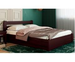 Буковая кровать Лира ПМ с подъемным механизмом