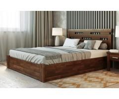 Кровать Зевс ПМ с оригинальным изголовьем
