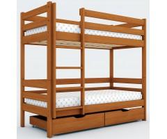 Двоповерхове ліжко Дует-2 вільха