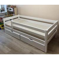 Одноярусная кровать Дуэт ольха
