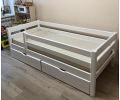 Одноярусне ліжко Дует вільха