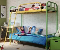 Двухъярусная металлическая кровать Бамбо Дуо