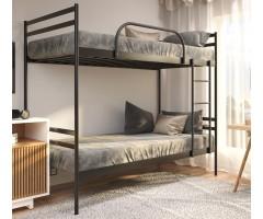 Двухъярусная металлическая кровать Комфорт Дуо