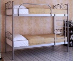 Двухъярусная металлическая кровать Верона Дуо