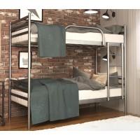 Двоярусне металеве ліжко Флай Дуо