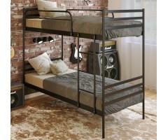 Двухъярусная металлическая кровать Оптима Дуо 2П