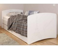 Ліжко з шухлядами серії Флай Гламур