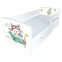 Дитяче ліжко Кіндер-Кул з малюнком на вибір