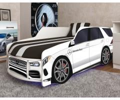 Ліжко у вигляді автомобіля Преміум Р006 Мерседес з матрацом