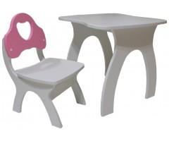Дитячий комплект стільчик зі столом Джонні-4