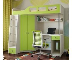 Функціональне ліжко-шухляда зі столом і шафою КЧО-158