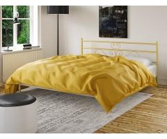 Металеве двоспальне ліжко Лаванда