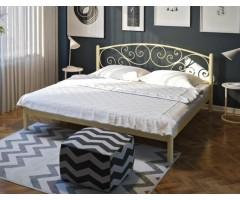 Двоспальне металеве ліжко Лілія