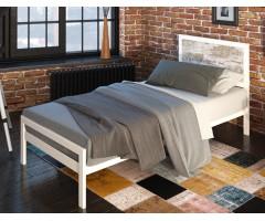 Односпальне ліжко з узголів'ям ДСП Герар Міні