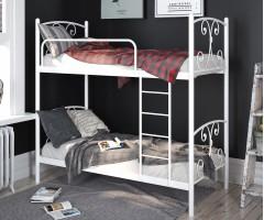 Металеве ліжко Жасмін двоповерхове