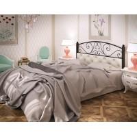 Кровать Астра из металла и кожзама