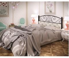 Ліжко Астра з металу та шкірзаму
