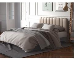 Ліжко Фуксія з м'яким узголів'ям