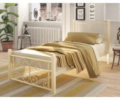 Односпальне ліжко Нарцис Міні на дерев'яних ніжках