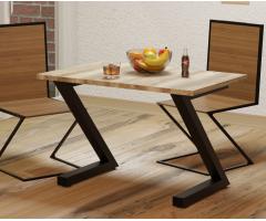 Металевий стіл для столової Зета