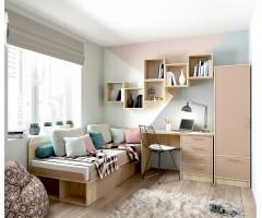 Детская модульная спальня Юниор набор из 5 элементов