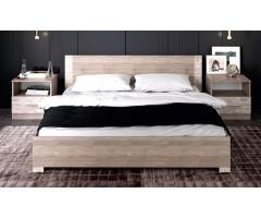 Двоспальне ліжко Єва