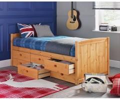 Кровать односпальная с ящичным блоком Агнесса