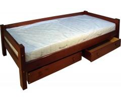 Односпальная подростковая кровать Арго с ящиками и спинкой