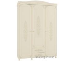 Шкаф трехдверный Ассоль 021